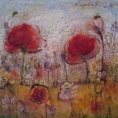 Tanya Kirouac, encaustic paintings