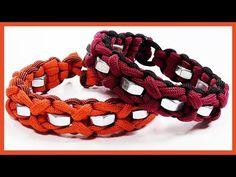 Paracord Bracelet Designs, Paracord Projects, Paracord Bracelets, Paracord Tutorial, Bracelet Tutorial, Hex Nut Jewelry, Bubble Dog, Nut Bracelet, Hardware Jewelry