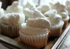 Whipped Buttercream Frosting {Best frosting ever!}