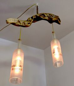 Belvidere Hanging Light With Driftwood