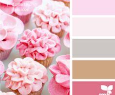 Design Seeds - Floral cupcake tones