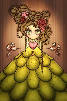 35 Really Cute Illustrations by Anita Mejia | The Design Inspiration