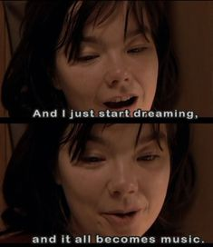 Björk as Selma in the Lars Von Trier movie: Dancer in the dark
