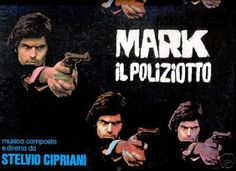 STELVIO CIPRIANI - MARK IL POLIZIOTTO. LP. Italy.1975