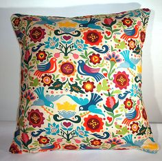 Just bought this scandinavian folk art cushion cover :)