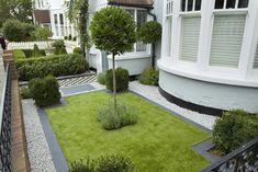 Simple Minimalist Front Garden design