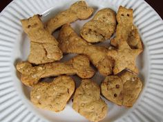 NOT for humans, super easy Peanut butter dog treats....soooo easy