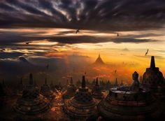 Candi Borobudur, Indonesia