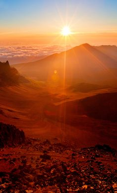 Witness a majestic sunrise atop Mount Haleakala at @Four Seasons Resort Maui
