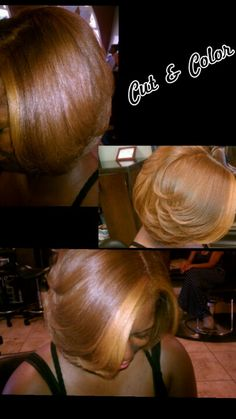 Cut and Color by Latasha at DreamGirls Salon in Elk Grove. Love Hair, Great Hair, Gorgeous Hair, Beautiful, Short Hair Cuts, Short Hair Styles, Braid Styles, Sassy Hair, Locks