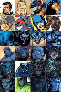 Post with 0 votes and 1448 views. (Some of) The Many Looks of Beast/Hank McCoy Comic Book Heroes, Marvel Heroes, Marvel Characters, Comic Books Art, Marvel Dc, Xmen Comics, Arte Dc Comics, Comic Pictures, Comic Pics