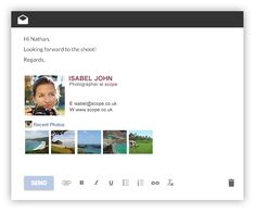 email template generator Professional Email Signature Template Generator by WiseStamp Free Email Signature, Professional Email Signature, Email Signature Templates, Email Templates, Email Signatures, Blogger Tips, Sample Resume, Polaroid Film, Google