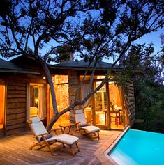 Treehouse Hotels around The Globe. They neglected to include Puerto Rico, where a man built several amazing treehouses from bamboo. If you ever venture to Puerto Rico, spend at least one night there!