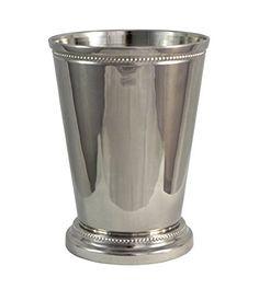 Premium Quality Mint Julep Cup - 12 oz Nickel Plate, Bead... https://www.amazon.com/dp/B011GV2X0G/ref=cm_sw_r_pi_awdb_x_wJMQybENRYJ9A
