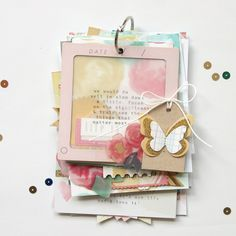 Mini book by Stephanie Bryan via Maggie Holmes design