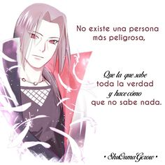 Peligro Inminente from the story Oscuras Verdades by Crystal_Weiss (Lorena De La Vega Ibañez) with reads. Kakashi Sensei, Naruto Shippuden Sasuke, Itachi Uchiha, Boruto, Otaku Anime, Anime Naruto, Top Disney Movies, Naruto Quotes, Minion Jokes
