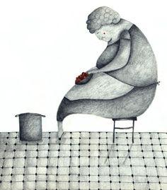 marionaillustracio Smurfs, Illustration, People, Fictional Characters, Art, Art Background, Illustrations, Kunst, Performing Arts