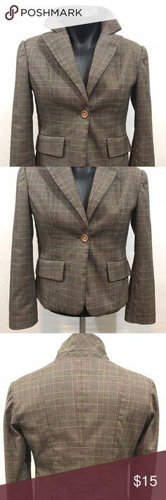 Women's Calliope Blazer Jacket Medium Polyester Beautiful brown blazer in great condition. Pre-owned in medium size. calliope Jackets & Coats Blazers