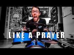 (33) Like a Prayer (metal cover by Leo Moracchioli) - YouTube