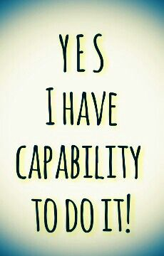 Yes, you can! You can do everything that you want, everything that you ever dream it.