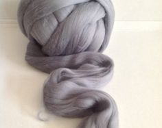 GREY - MERINO 19mic extra fine - co.no. 210 by woolfinchstudio. Explore more products on http://woolfinchstudio.etsy.com