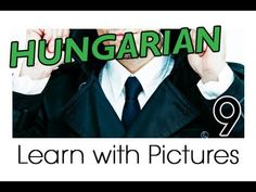 Learn Hungarian Vocabulary with Pictures - Getting Dressed