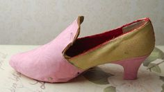 ~ Making 18th Century shoes out of modern shoes
