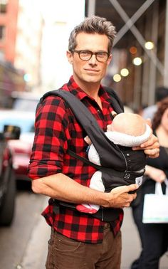 Is the baby the new addition to menswear?