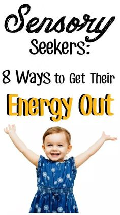 If your child is a sensory seeker there are easy ways to help them get rid of their extra energy! Read all about how to get rid of extra energy with these sensory seeker tips today! Try one of these tips for your kids! Sensory Activities Toddlers, Therapy Activities, Toddler Preschool, Sensory Therapy, Sensory Issues In Toddlers, Proprioceptive Activities, Enrichment Activities, Preschool Activities, Sensory Diet