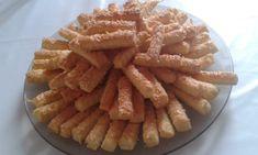 Omlós sajtos rúd - MesiNasi - Sütemény és Egyszerű Étel Receptek Biscotti Recipe, Onion Rings, Apple Pie, Rum, Waffles, Food And Drink, Breakfast, Cake, Ethnic Recipes