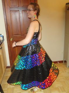 Pretty duct tape dresses images