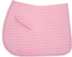 A show-stopping and chic baby pink dressage saddle pad. Shop our colorful selection of quality and colorful dressage saddle pads today. Pony Saddle, Dressage Saddle, English Horse Tack, English Saddle Pads, Hunter Under Saddle, Jumping Saddle, Timberland Style, Timberland Fashion, Equestrian Style
