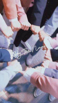 Say the name its seventeen! Vernon Seventeen, Mingyu Seventeen, Seventeen Debut, Seventeen Memes, Wonwoo, Woozi, Jeonghan, Day6 Sungjin, Carat Seventeen