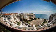 Aristoteloys square, Thessaloniki. Shooted from Electra Palace Hotel