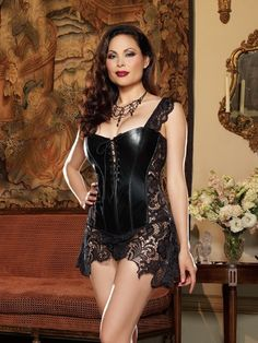 Plus Size Beyonce Corset and Thong Set FHV9367XB via Love Temptation. Click on the image to see more!