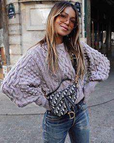 "JULIE SARIÑANA on Instagram  ""Knit season! 💫 •  apieceapart sweater via   shopbop"" 3bf167dc72d9"
