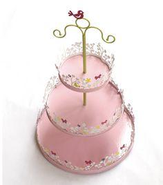 Magic garden cake stand