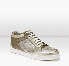 Jimmy Choo sneakers.