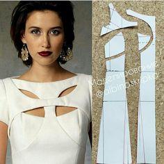 Моделирование оригинального платья 0