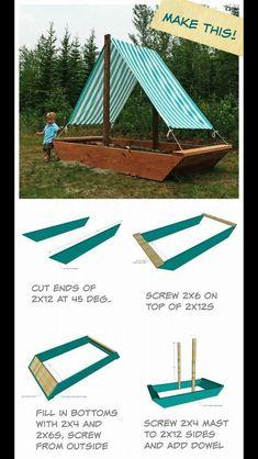 Machen Sie dieses Segelboot zum Sandkasten  #dieses #machen #sandkasten #segelboot #gartentipps