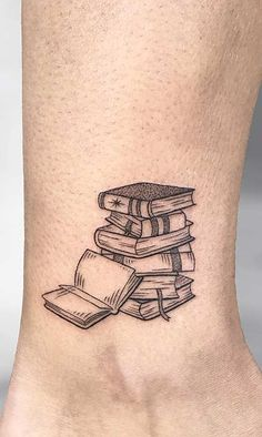 Awe-inspiring Book Tattoos for Literature Lovers - beautiful book tattoo designs © tattoo artist ISA ART TATTOO ❤📚❤📚❤📚❤ You are in th - Bookish Tattoos, Literary Tattoos, Book Tatoo, Small Book Tattoo, Unique Tattoos, Small Tattoos, Awesome Tattoos, Pretty Tattoos, Hot Tattoos
