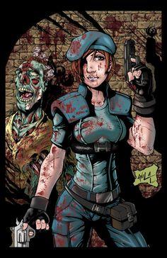 Jill Valentine - Resident Evil - Javier Avila