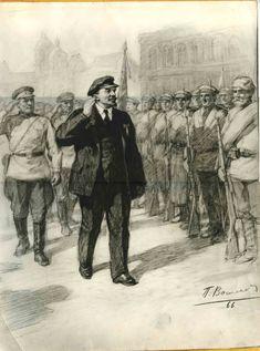 Soviet Art, Soviet Union, Largest Countries, Countries Of The World, Bolshevik Revolution, Vladimir Lenin, The Bolsheviks, Socialist Realism, Russian Revolution