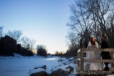 Christina (plus) Nathan - two of the top Calgary wedding photographers for over a decade. Their award winning photography is filled with real moments. Award Winning Photography, A Decade, Calgary, Wedding Photography, In This Moment, Winter, Outdoor, Wedding Shot, Winter Time