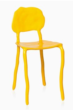 "30 Perfect Picks From Home-Design Pros #refinery29  http://www.refinery29.com/bright-home-decor#slide30  Maarten Baas Clay Dining Chair, 2,540, available at L'ArcoBaleno.     ""A whimsical classic by Maarten Baas, this chair is available in an array of bright colors and lends its charm to any room."""