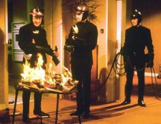 Fahrenheit 451 by Ricky Bueckert on Prezi Julie Christie, Cyril Cusack, Science Fiction, Great Sci Fi Movies, Savage Nation, Michael Savage, Book Burning, Francois Truffaut, Freedom Of The Press