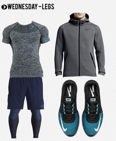 Men's Gym Style 2016: The Best Workout Clothes For The Year. #playinspired