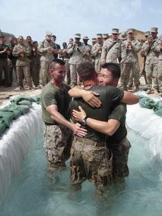 Military Baptism! Freedom of Religion