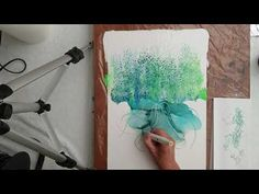 ALswipe ( Alcohol ink and acrylic paint) and alcohol ink marker ( nr 18 ) Timelapse Alcohol Ink Crafts, Alcohol Ink Painting, Alcohol Ink Art, Coral Reef Drawing, Art Journal Techniques, Painting Techniques, Acrylic Art, Animal Design, Art Tutorials