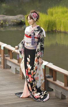 着物。Japanese traditional dress.
